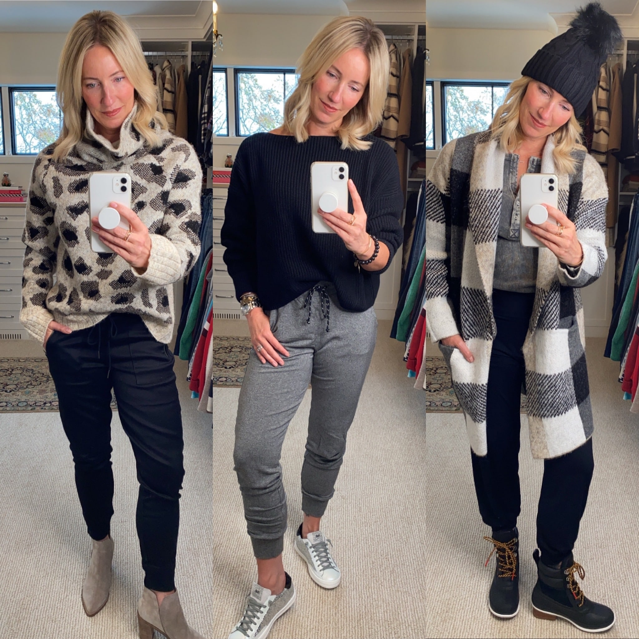 Guide to Styling Sweaters + Joggers