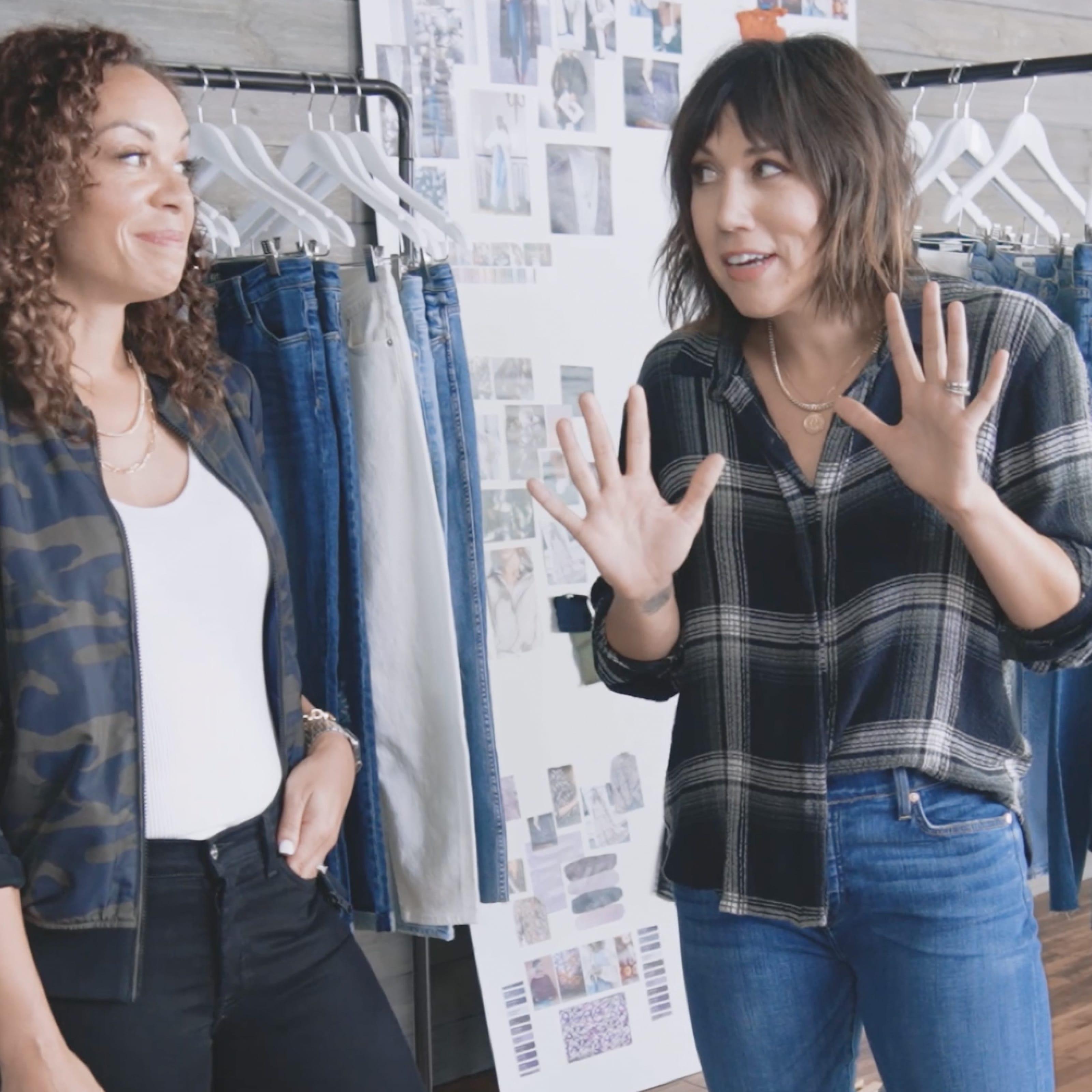 BURNING Q: How do I wear boyfriend jeans?