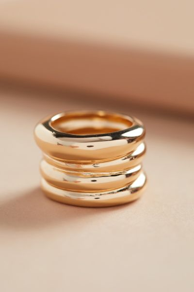 Joey Gold Statement Ring