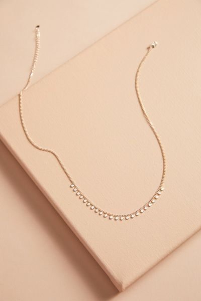 Evereve Lucy Dot Necklace