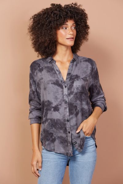 Hunter Tie Dye Button Down
