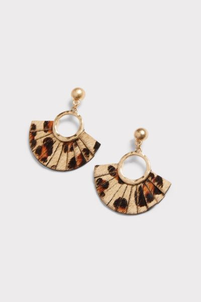 Thirty-nine 42 Ellie Leopard Earrings