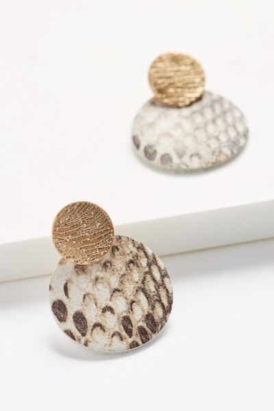 Evereve Shelby Snake Statement Earrings
