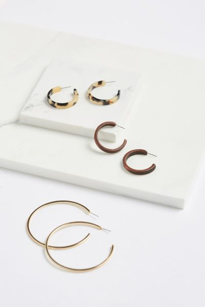 Thirty-nine 42 Emmie Hoop Earring Pack