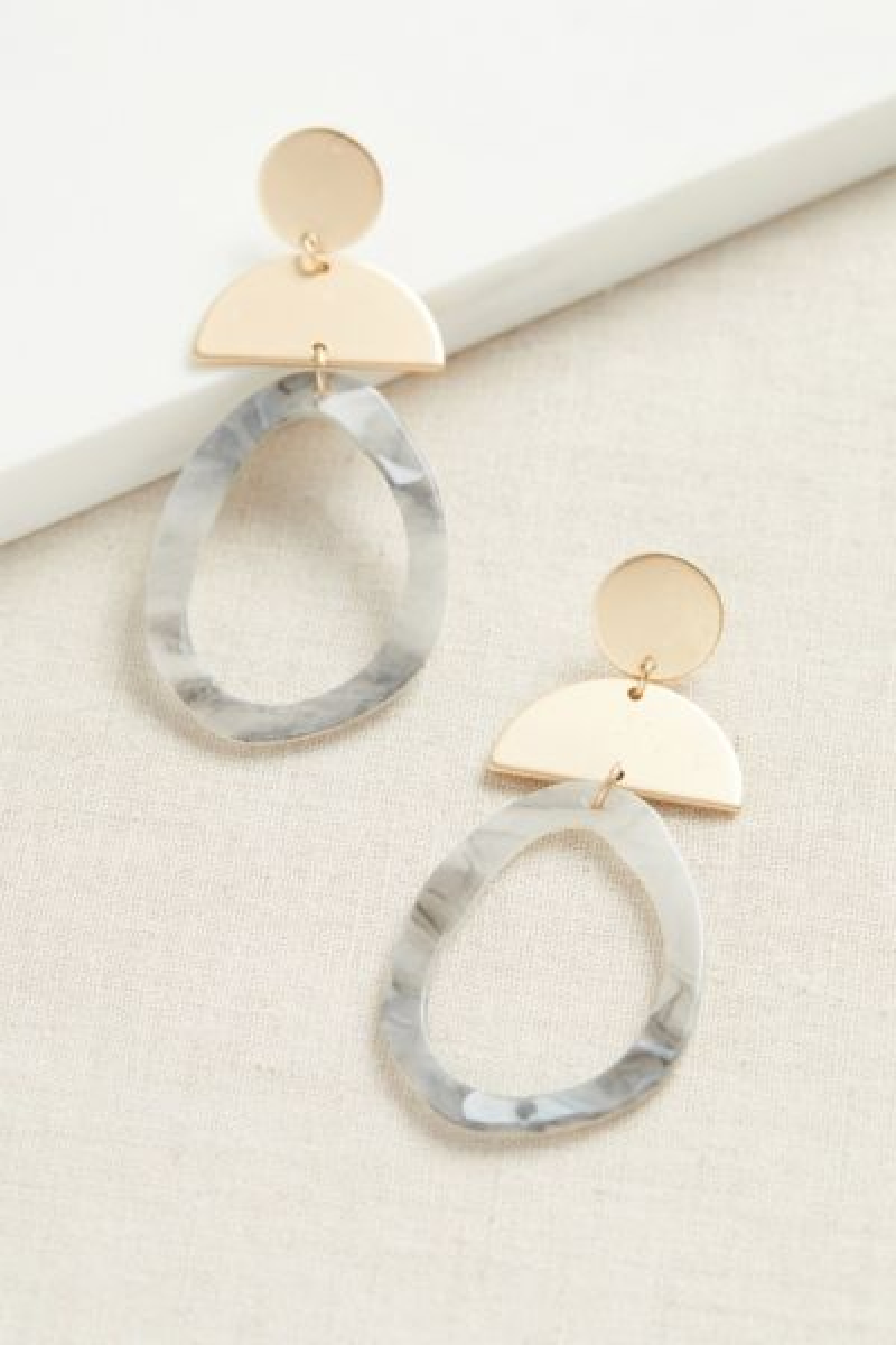 Thirty-nine 42 Alice Resin Statement Earrings