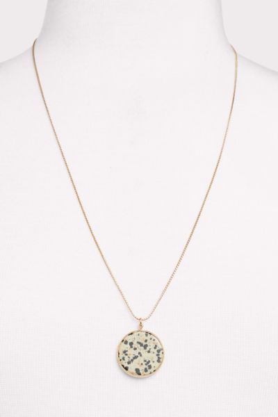 Thirty-nine 42 Elle Dalmation Pendant Necklace