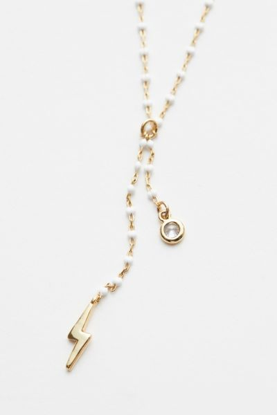 Evereve Demi Painted Chain Necklace