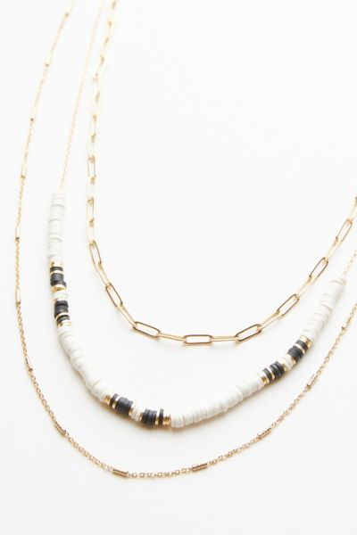 Evereve Brea Sequin Layered Necklace