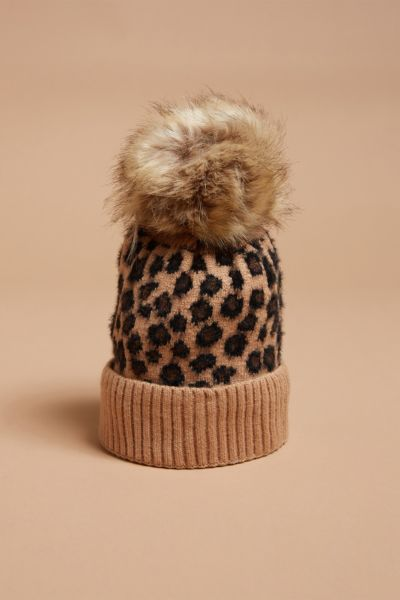 Abby Leopard Hat