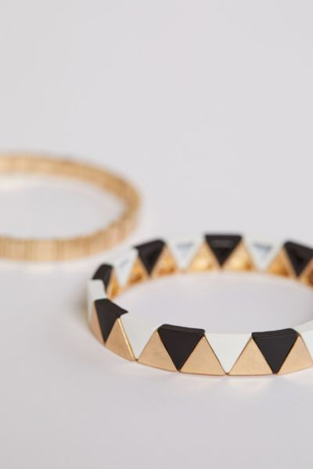 Evereve Reva Triangle Bracelets