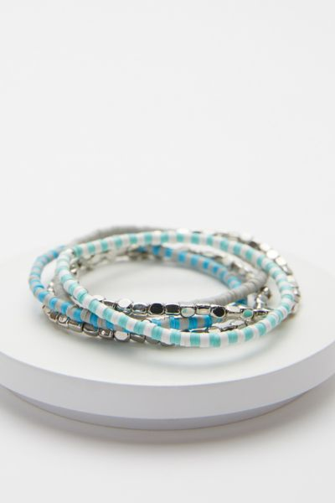 Effie Delicate Sequin Bracelet Stack