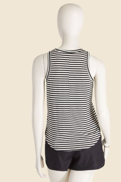 Allison joy Kingsley Stripe Scoop Tank