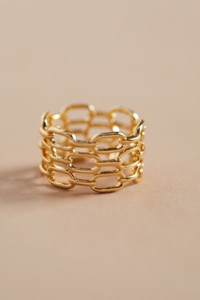 Evereve Maya Chain Ring