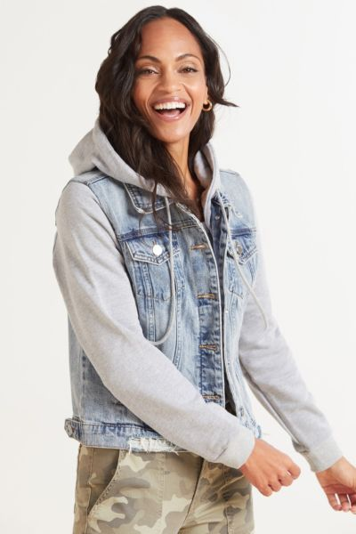 Hooded Fury Denim Jacket