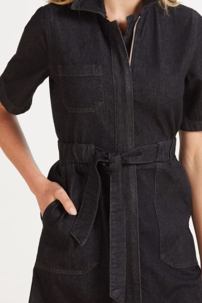 French connection Rodetta Recycled Denim Dress