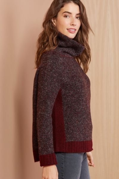 Rd style Sporty Turtleneck Pullover