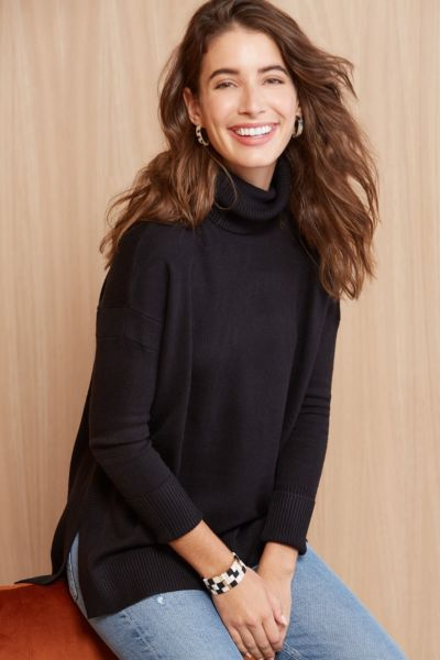 French connection Cleo Turtleneck Pullover