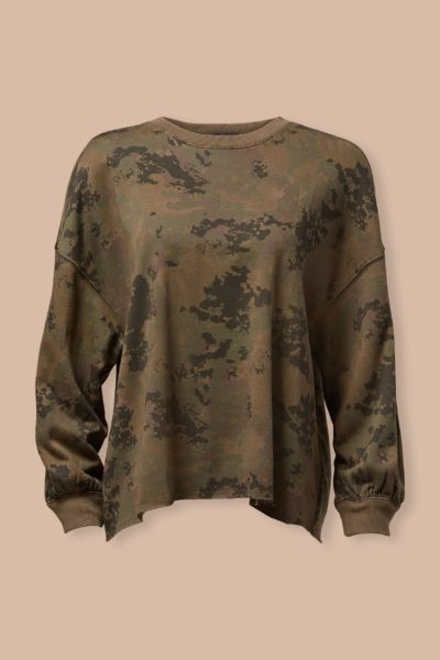 Rails Reeves Camo Sweatshirt
