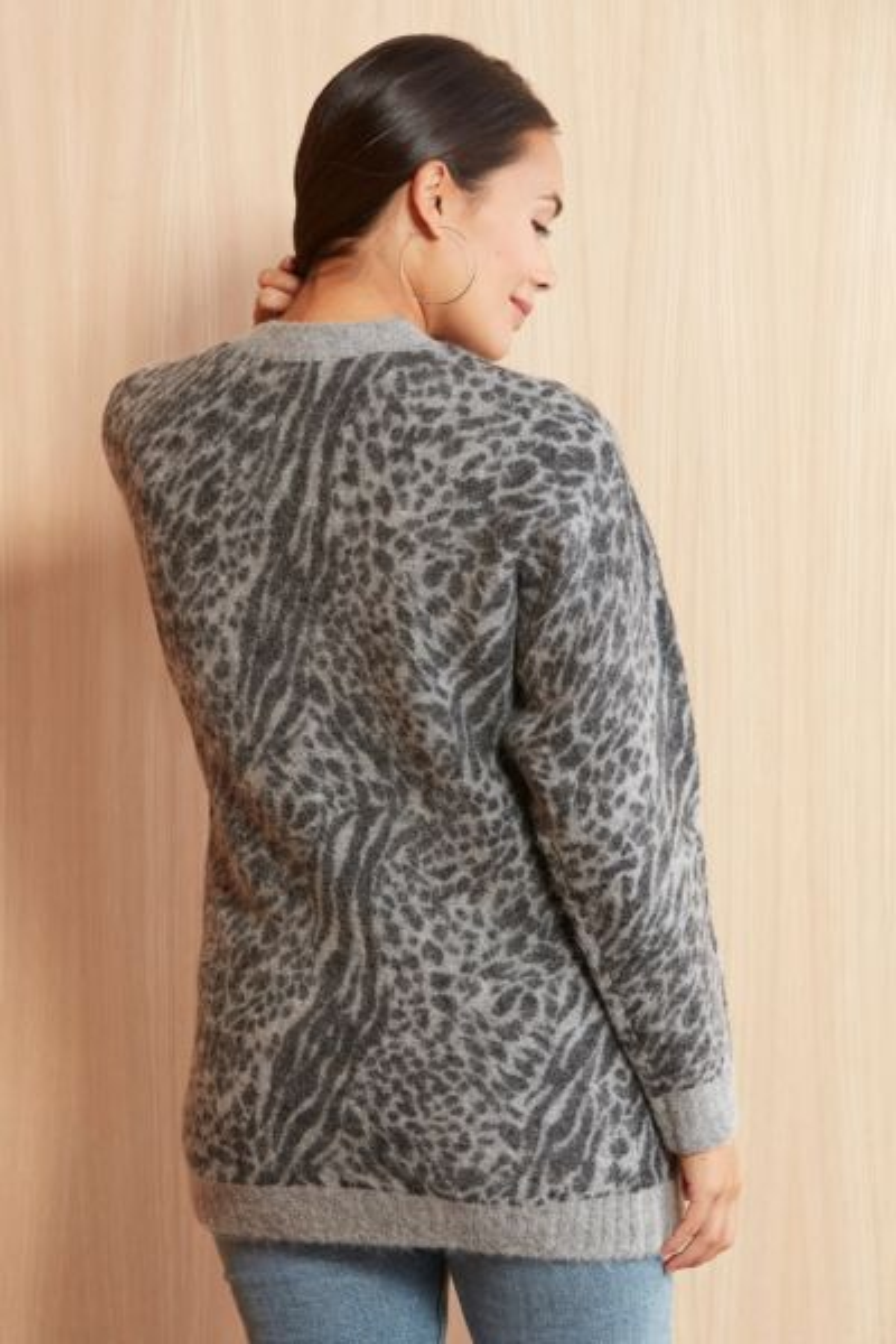 Rails Oslo Leopard Cardigan