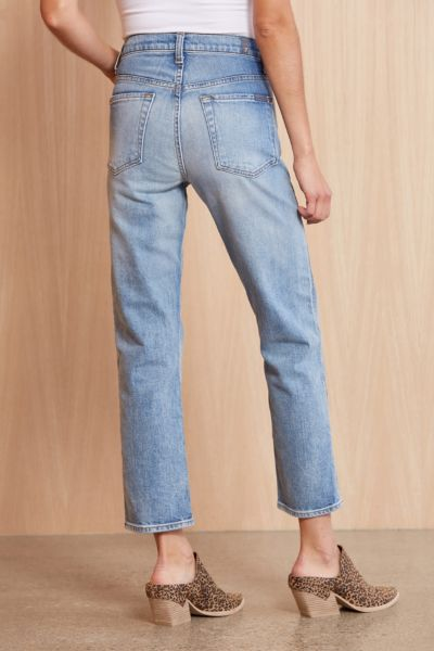 7 for all mankind High Waist Cropped Straight