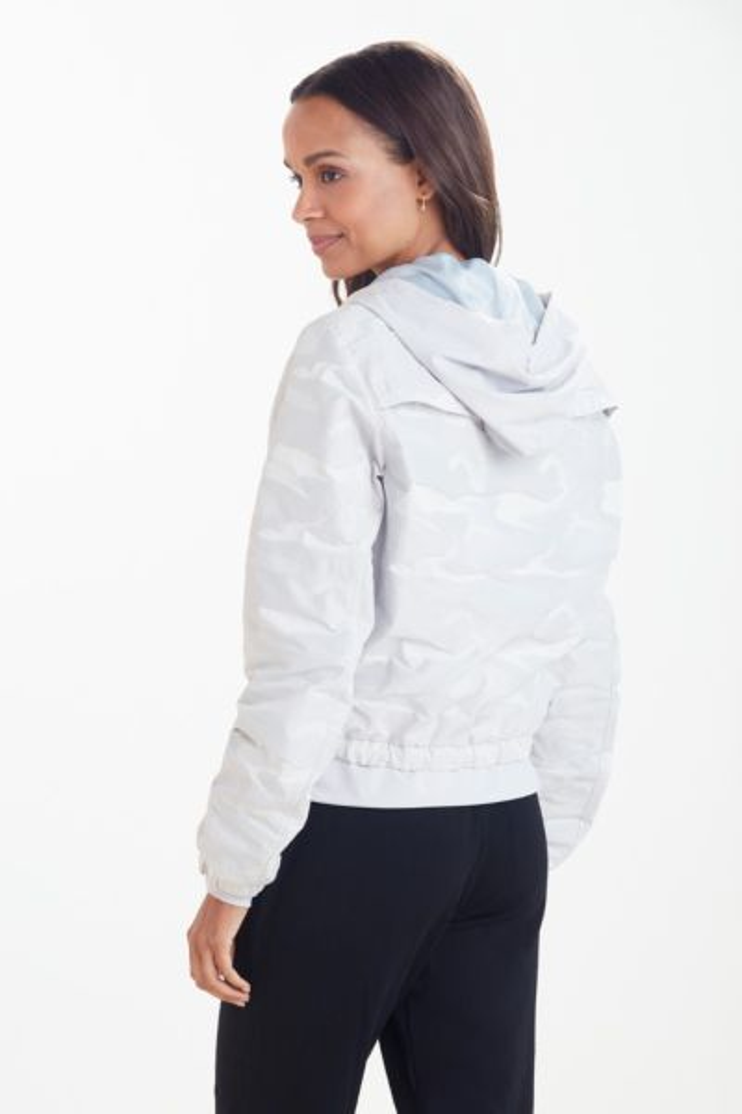 Blanc noir Camo Skyfall Jacket