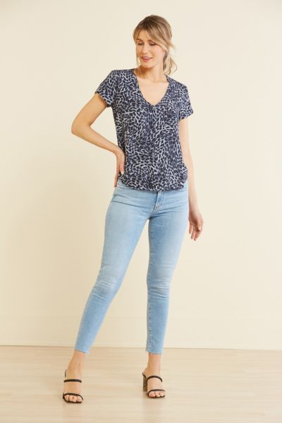 Cloth and stone Moonlight Leopard Tee