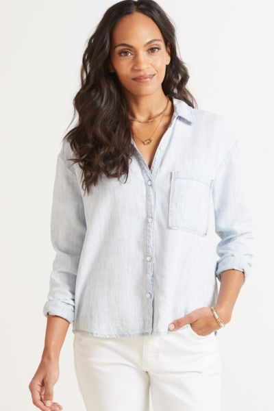 Cloth and stone Skywash Button Down Shirt