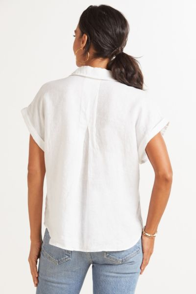 Cloth and stone Linen Pocket Button Down
