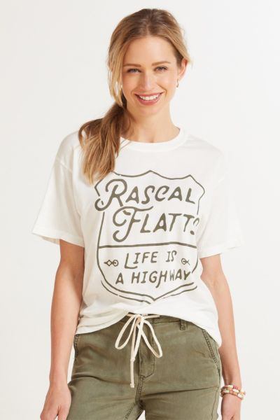 Life is a Highway Boyfriend Tee