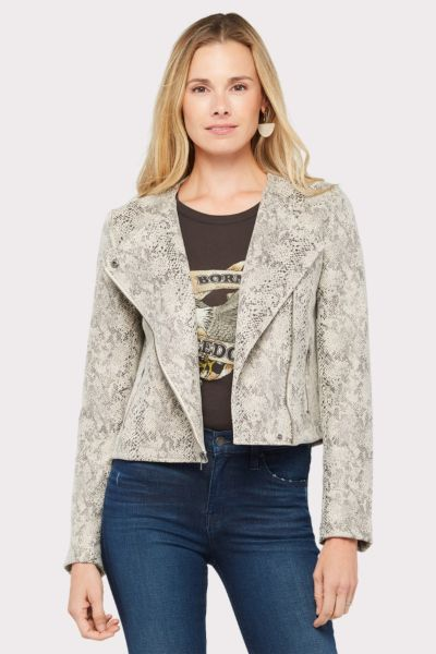 Cupcakes and cashmere Cold Blooded Moto Jacket