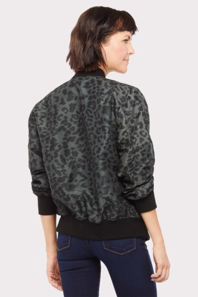 Chrldr Animal Bomber Jacket