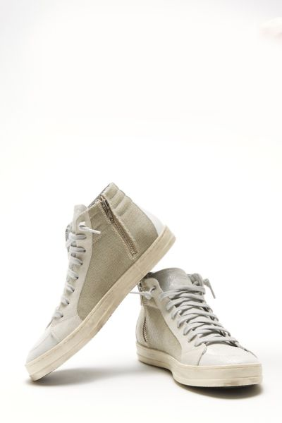 P448 Metallic Hightop Sneaker