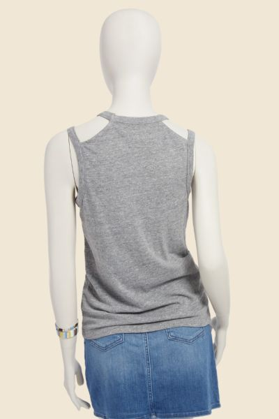 Chaser Cut Out Shoulder Tank