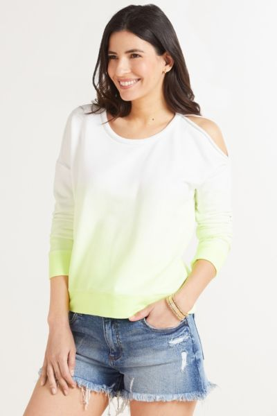 Chaser Ombre Cutout Sweatshirt