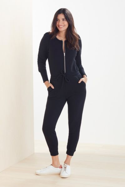 Puff Sleeve Jogger Jumpsuit