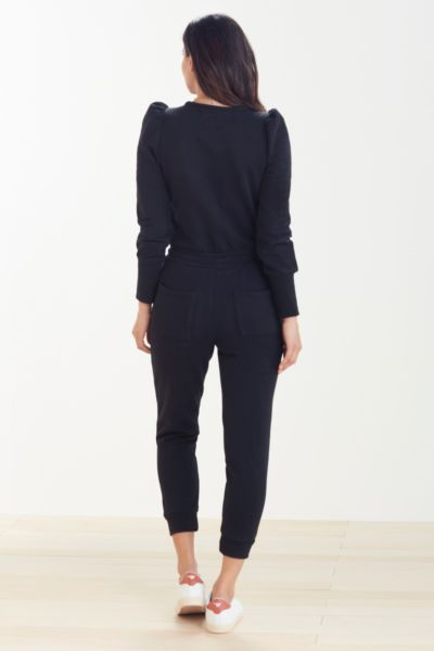Chaser Puff Sleeve Jogger Jumpsuit