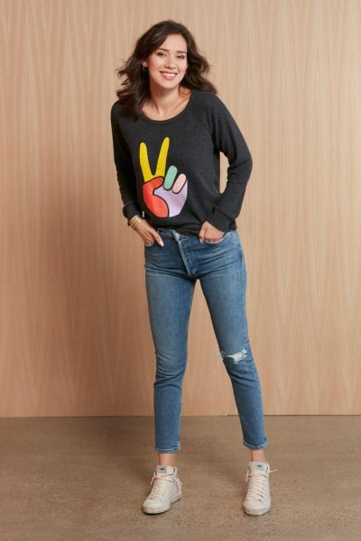 Chaser Peace Pullover