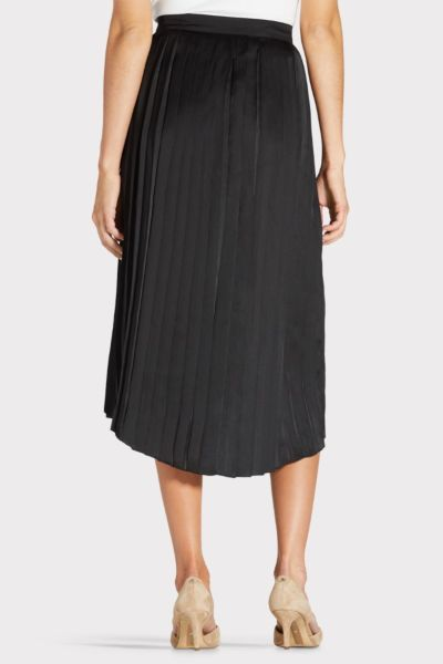 Chaser Pleated Midi Skirt