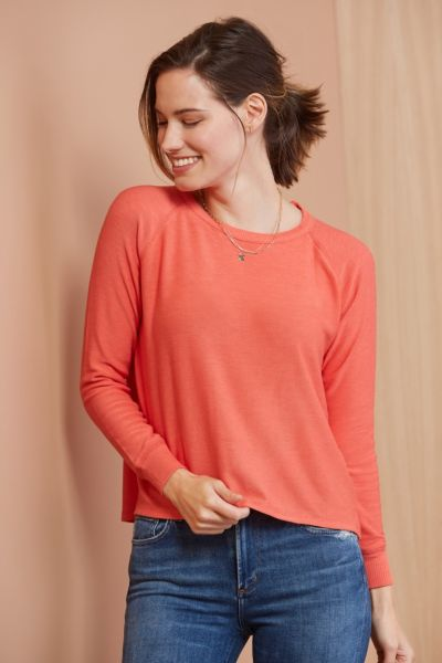 Chaser Coral Pullover