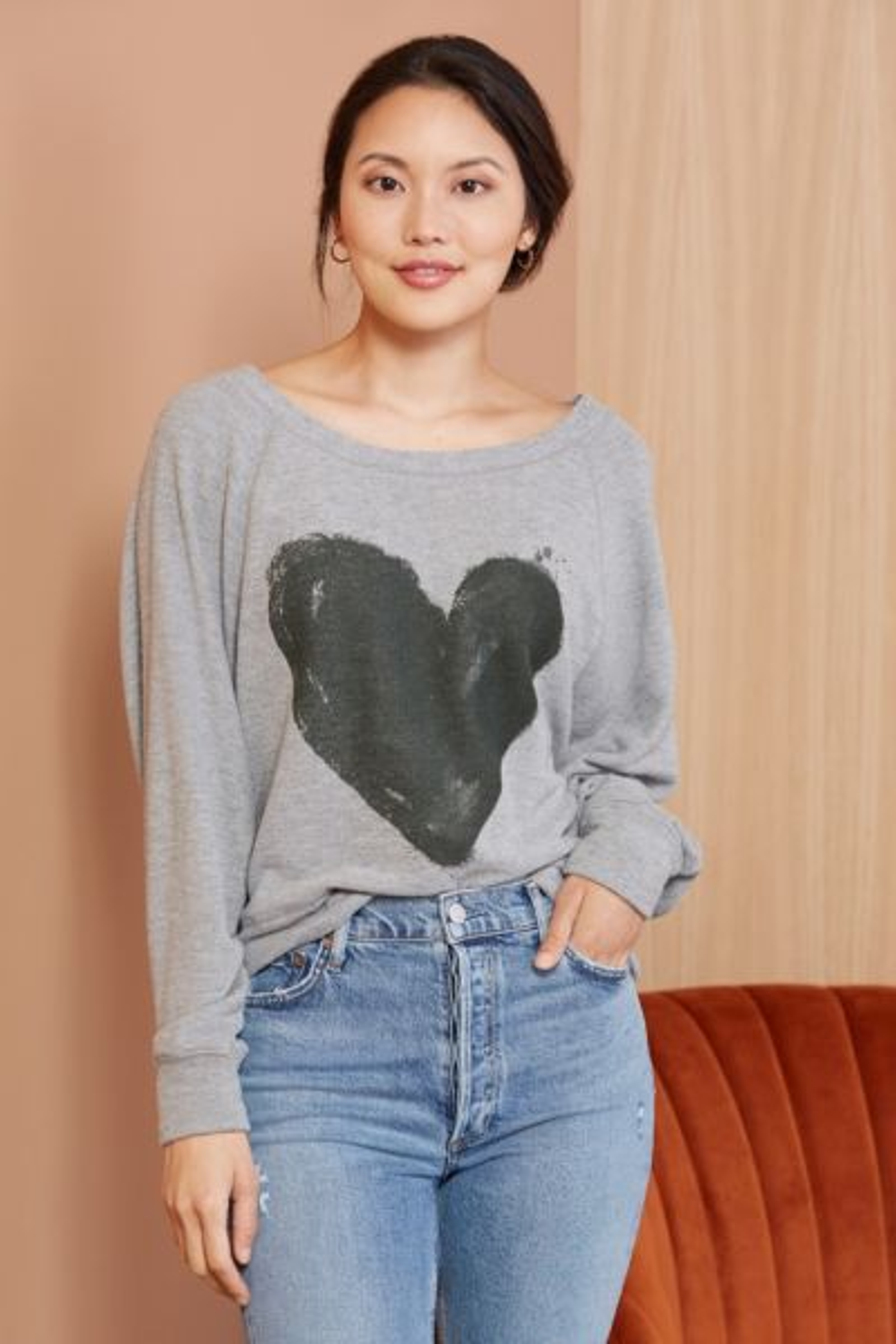 Chaser With Heart Sweatshirt