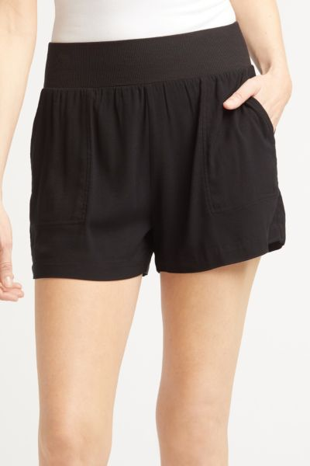 Henrietta Rib Waist Shorts