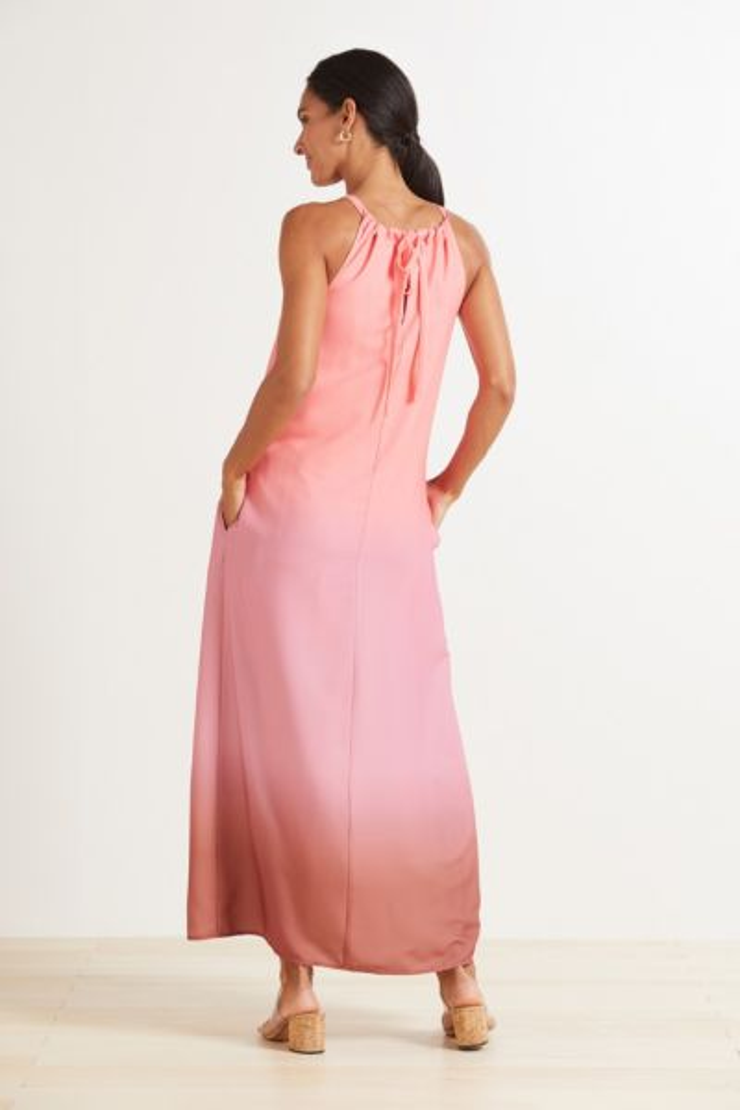 Roan + ryan Lola Halter Dress