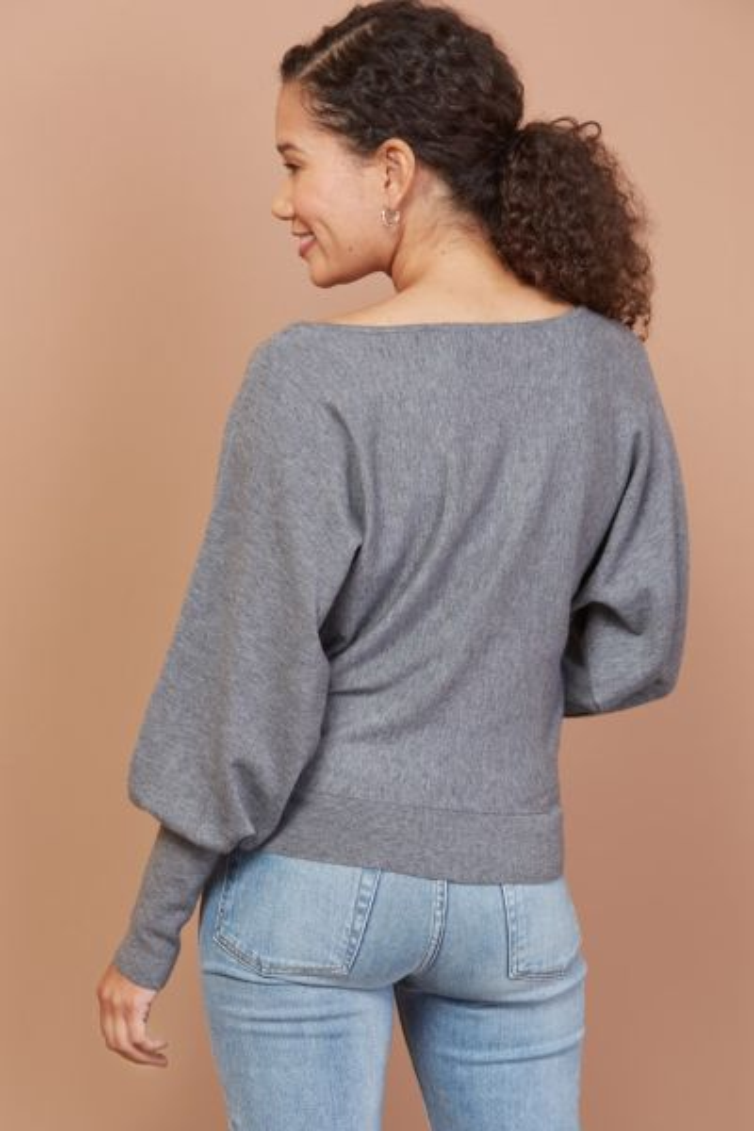 Allison joy Everly Off Shoulder Pullover
