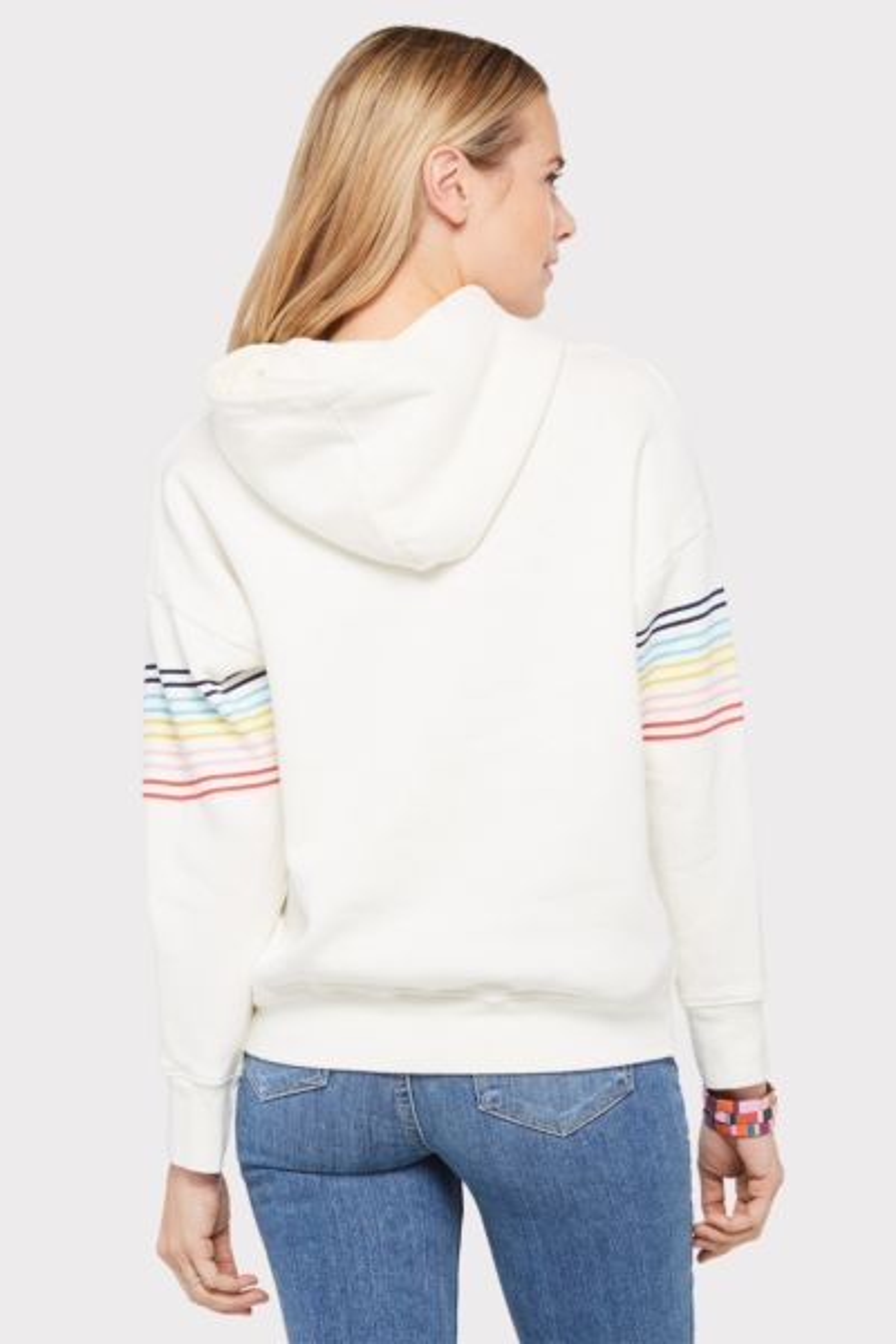 Sundry Multi Stripe Hoodie