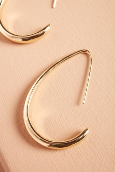 Evereve Gwen Half Hoop Earrings
