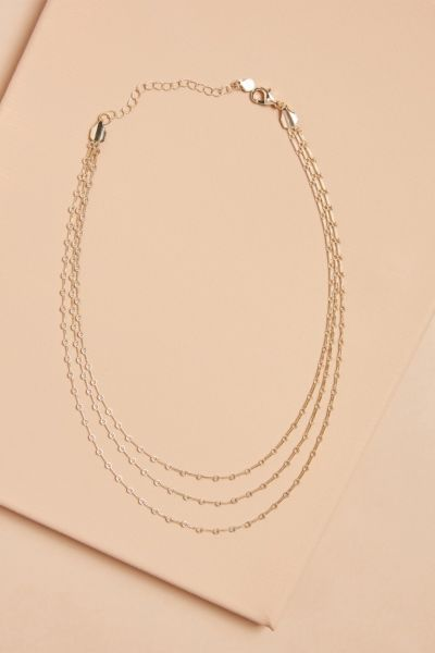 Elli Triple Strand Necklace