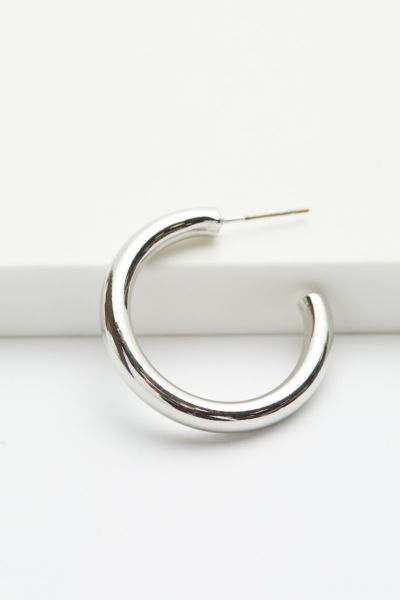 Evereve Emma Small Thick Hoop Earrings