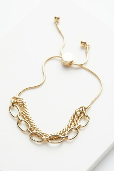 Evereve Bekah Double Chain Bracelet