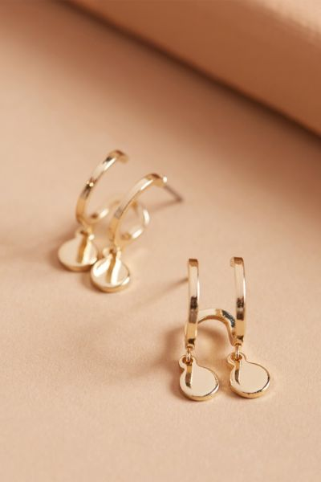 Thirty-nine 42 Lillia Double Huggie Earrings