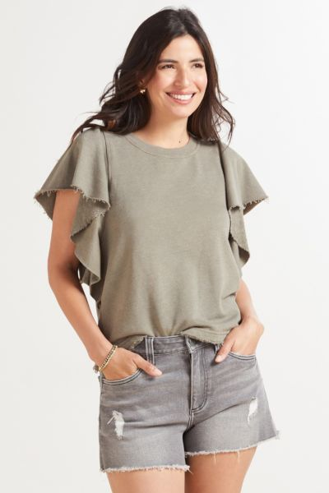 Ariana Flutter Sweatshirt